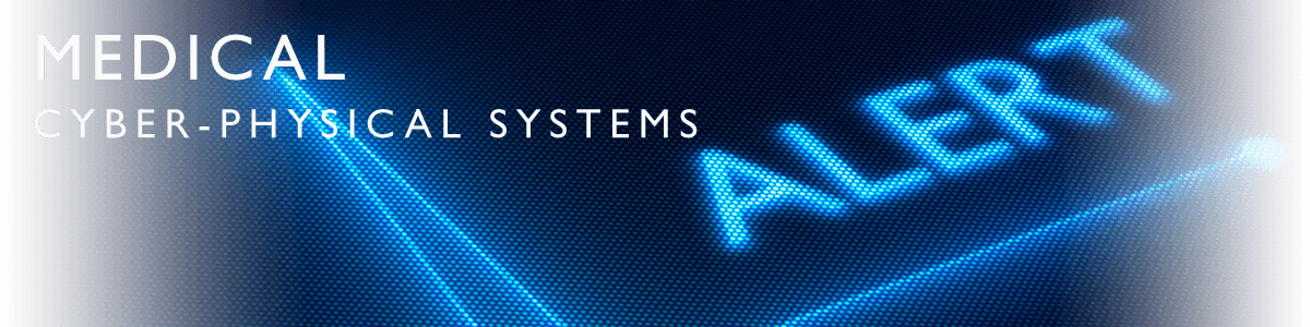 Medical Cyber Physical Systems banner image